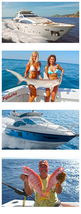 Cabo San Lucas Yacht Charters, Boat Rentals, Los Cabos